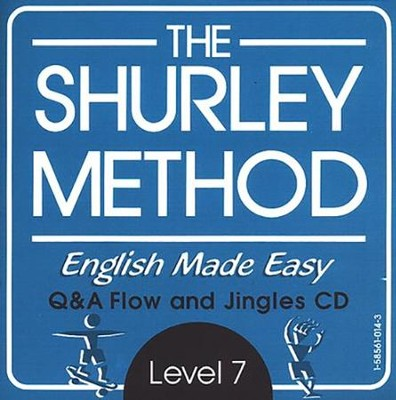 Shurley English Level 7 Instructional CD  -