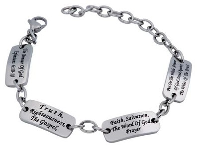 Armor of God, Identity Bracelet, Adjustable   -