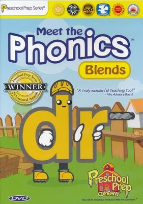 Meet the Phonics: Blends DVD   -