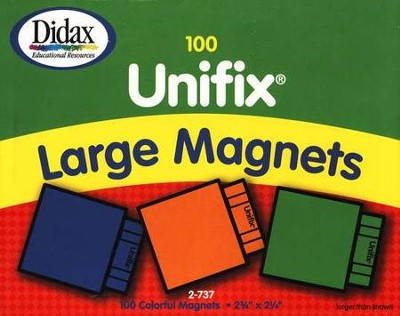 100 Large Unifix Magnets   -