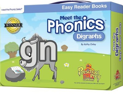 Meet the Phonics: Digraphs Easy Reader Books   -