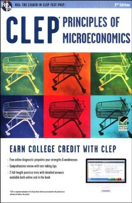 CLEP Principles Of Microeconomics with Online Practice Tests 2E  -     By: Richard Sattora