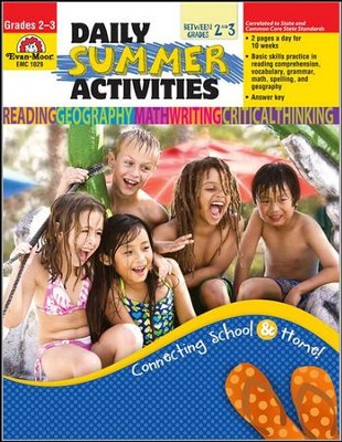 Daily Summer Activities, Moving from Second to Third Grade  -     Edited By: Marilyn Evans     By: Jo Ellen Moore     Illustrated By: Jo Larsen