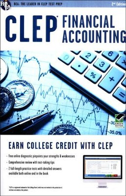 CLEP Financial Accounting with Online Practice Tests 2E  -     By: Donald Balla