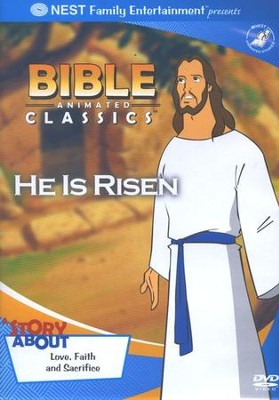 Animated Bible Classics: He Is Risen, DVD   -