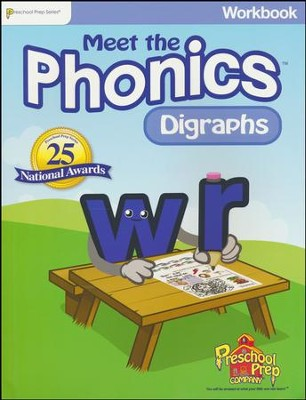 Meet the Phonics: Digraphs Workbook   -