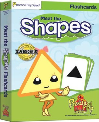 Meet the Shapes Flashcards   -