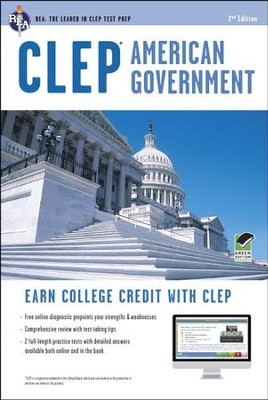 CLEP American Government with Online Practice Tests  -     By: Preston Jones