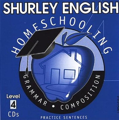 Shurley English Level 4 Practice CDs  -