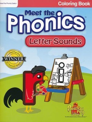Meet the Phonics: Letter Sounds Coloring Book   -