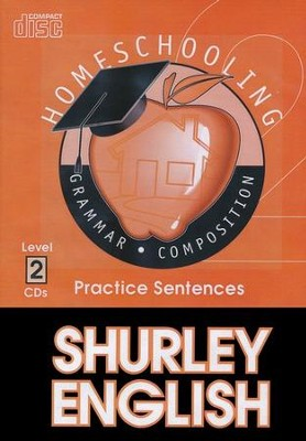 Shurley English Level 2 Practice CDs  -