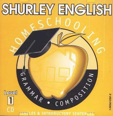Shurley English Level 1 Instructional CD  -