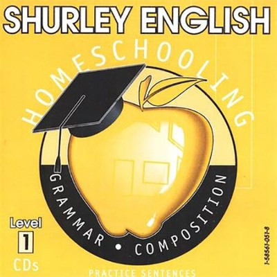 Shurley English Level 1 Practice CDs  -