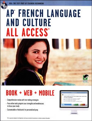 AP French Language and Culture All Access  -     By: The Editors of REA