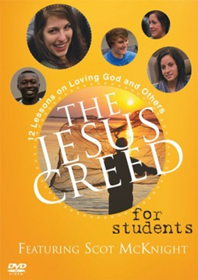 The Jesus Creed for Students, DVD   -     By: Paraclete Video Productions