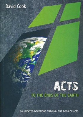 Acts: To the Ends of the Earth 50 Undated Bible Readings  -     By: Julie Moser