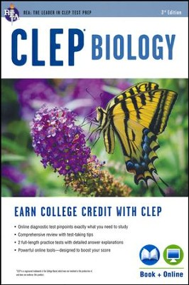 CLEP Biology 3rd Ed., with Online Practice Tests   -     By: Laurie Ann Callihan