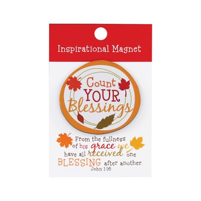Count Your Blessings Magnet  -