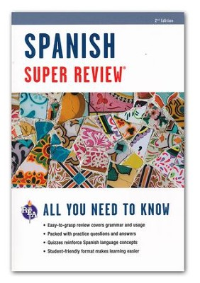 Spanish Super Review, 2nd Ed.  -