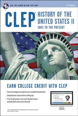 CLEP History of the United States II w/online Practice   -     By: Lynn Elizabeth Marlowe