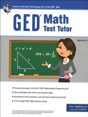 GED Mathematics CBT w/Online Practice Tests, 4th Ed.  -     By: Bob Miller