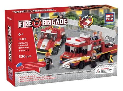 Fire Engine & Road Car With Sound & Light   -