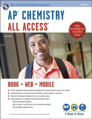 AP Chemistry All Access 2nd Edition   -     By: Kevin Reel, Derrick C. Wood, Scott A. Best