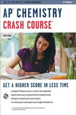 AP Chemistry Crash Course, 2nd Edition  -     By: Adrian Dingle