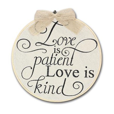 Love Is Patient, Love Is Kind, Wall Decor, Large   -