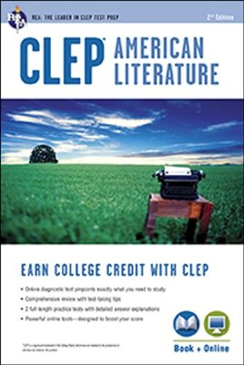 CLEP American Literature 2nd Ed., with Online Practice  Tests  -