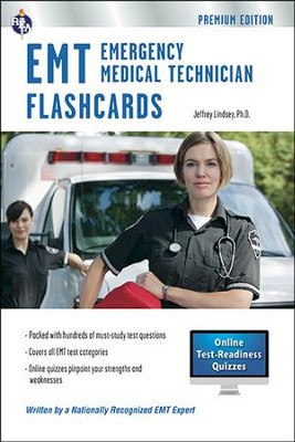 EMT - Paramedic Flashcard Book 3rd Ed., Premium Edition with Online Practice Test June 2014  -