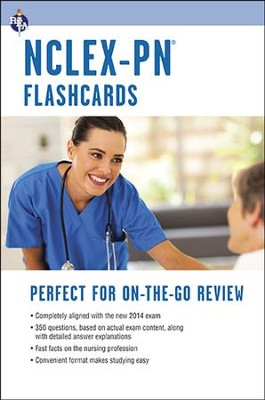 NCLEX - PN Nursing Exam Flashcard Book 2nd Edition   -