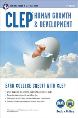 CLEP Human Growth & Development Book and Online (CLEP Test Preparation)  -     By: Patricia Heindel Ph.D.