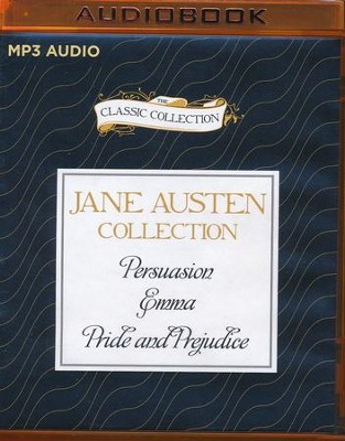 Jane Austen - Collection: Persuasion, Emma, Pride and Prejudice - unabridged audio book on MP3-CD  -     Narrated By: Michael Page, Sharon Williams     By: Jane Austen