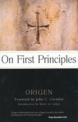 On First Principles  -     Edited By: G.W. Butterworth     By: Origen
