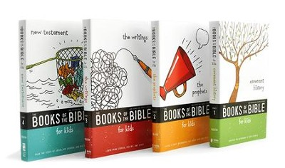 The NIrV Books of the Bible for Kids, 4 Volumes   -
