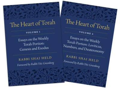 The Heart of Torah, Gift Set: Essays on the Weekly Torah Portion  -     By: Rabbi Shai Held
