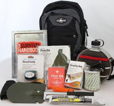 Survival Explorer Backpack Kit   -
