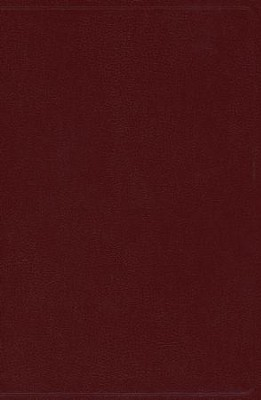 NKJV Giant Print Reference Bible, Burgundy Imitation Leather  -