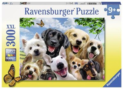 Delighted Dogs Puzzle, 300 Pieces  -