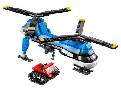 LEGO ® Creator 3-in-1 Twin Spin Helicopter   -