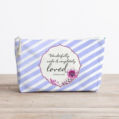 Completely Loved Cosmetic Bag  -
