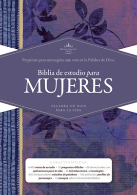 Biblia de estudio para mujeres RVR 1960, tapa dura (Study Bible for Women)  -     Edited By: Dorothy Kelley Patterson, Rhonda Harrington Kelley