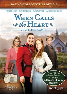 when calls the heart complete season 4 10 dvd collector s ed