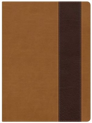 Holman Study Bible: NKJV Edition, Suede & Chocolate LeatherTouch  -