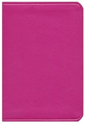 KJV Large Print Compact ColorMax Bible, Hot Pink Leathertouch  -