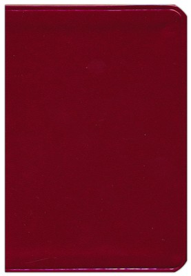 KJV Large Print Compact ColorMax Bible, Ruby Red Leathertouch  -