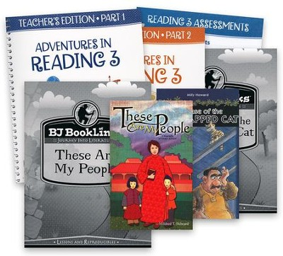 BJU Press Reading 3 Teacher's Edition with Assessments  Packet (3rd Edition)  -