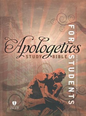 HCSB Apologetics Study Bible for Students, Hardcover  -