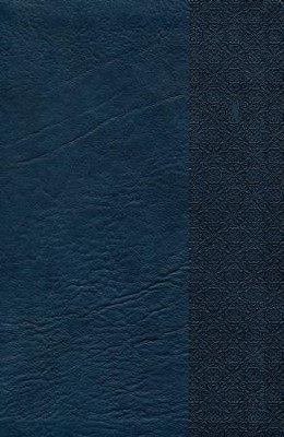 NKJV UltraThin Reference Bible, Slate Blue LeatherTouch, Thumb-Indexed  -